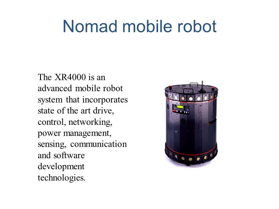 Nomad mobile robot