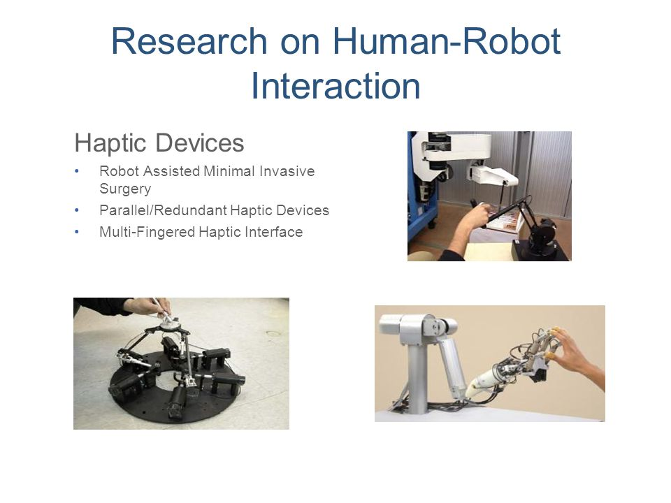 Research on Human-Robot Interaction