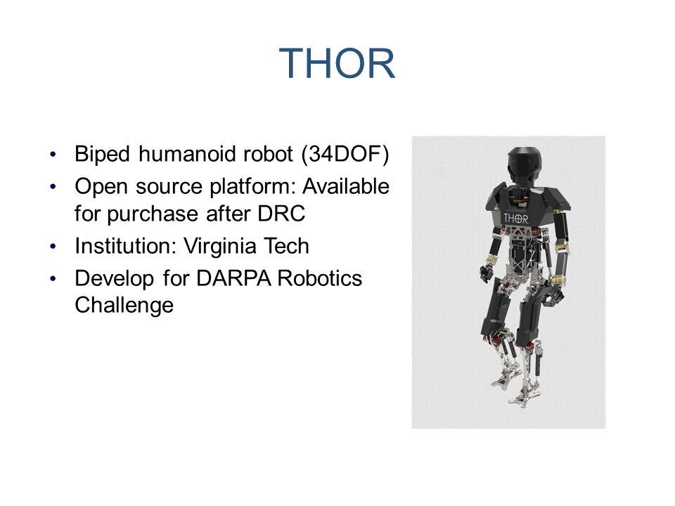 THOR Biped humanoid robot (34DOF)