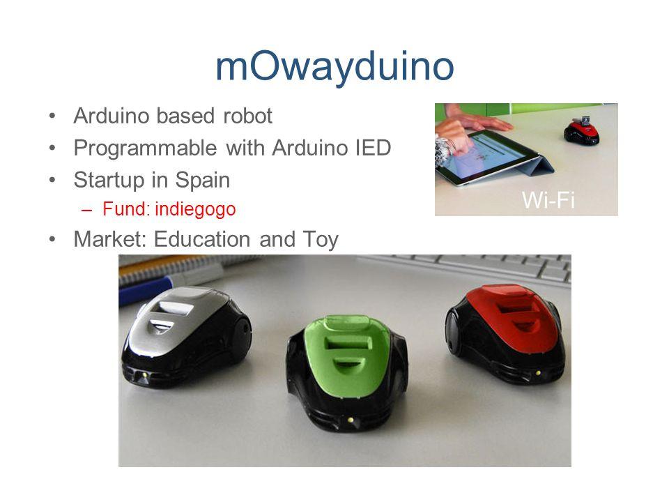 mOwayduino Arduino based robot Programmable with Arduino IED