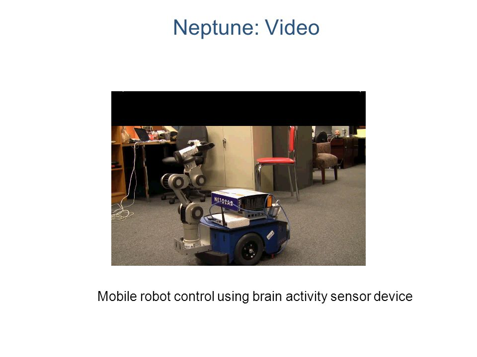 Neptune: Video Mobile robot control using brain activity sensor device
