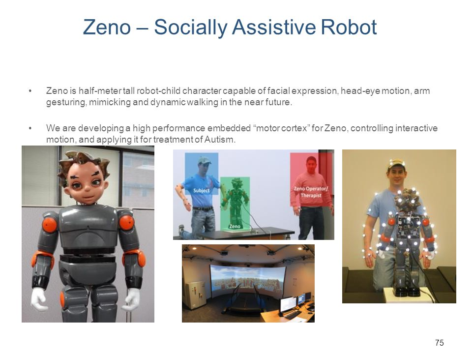 Zeno – Socially Assistive Robot