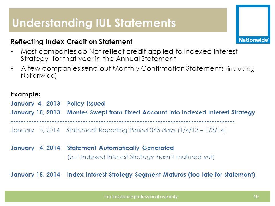 Understanding IUL Statements