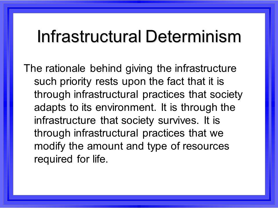 Infrastructural Determinism