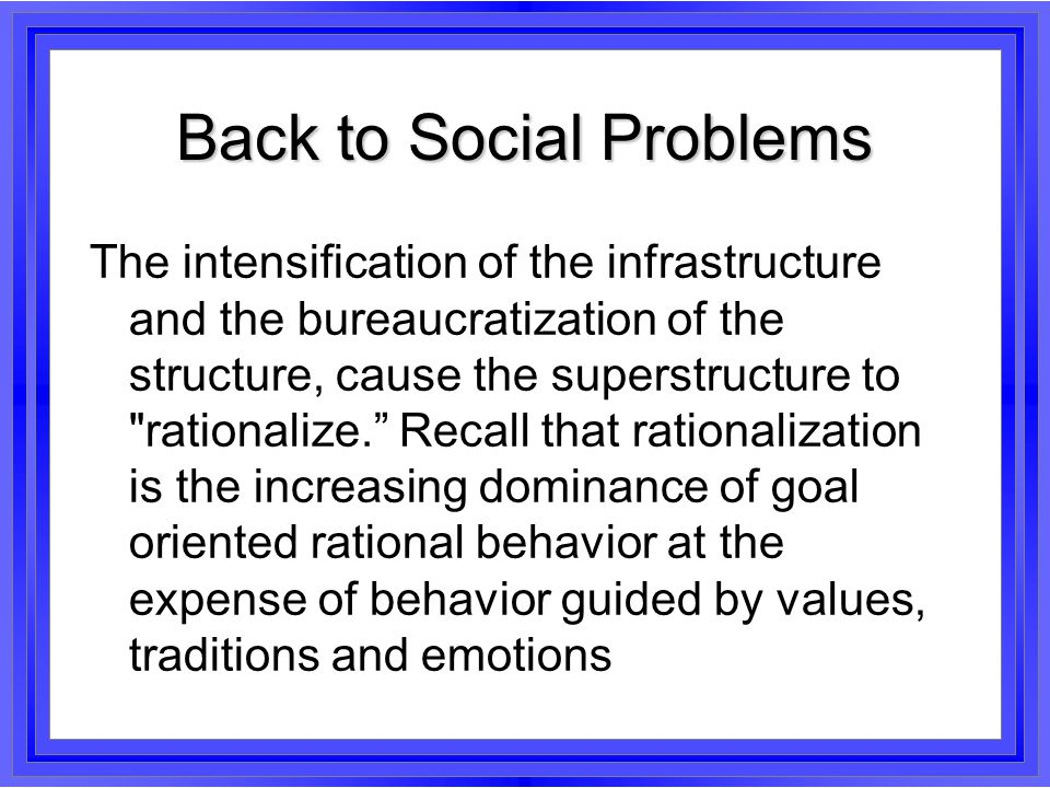 Back to Social Problems