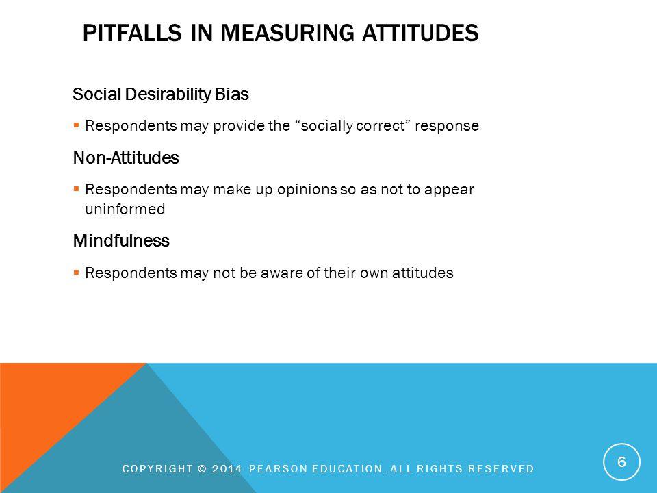 Pitfalls in measuring attitudes