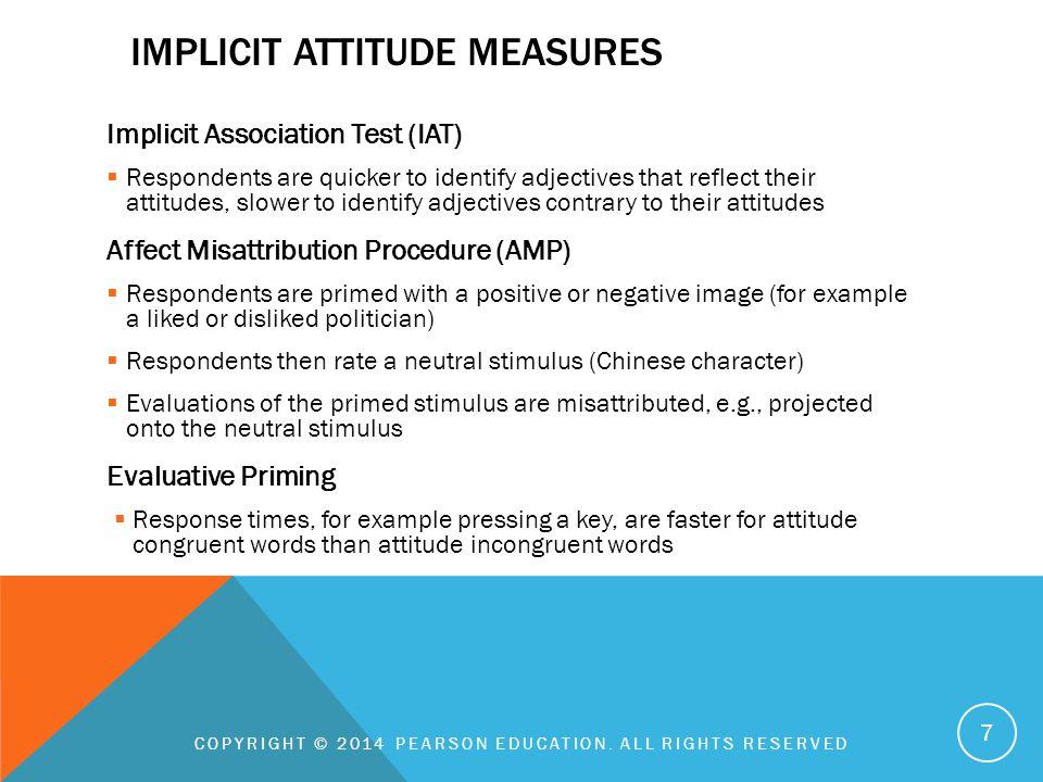 Implicit Attitude MEasures