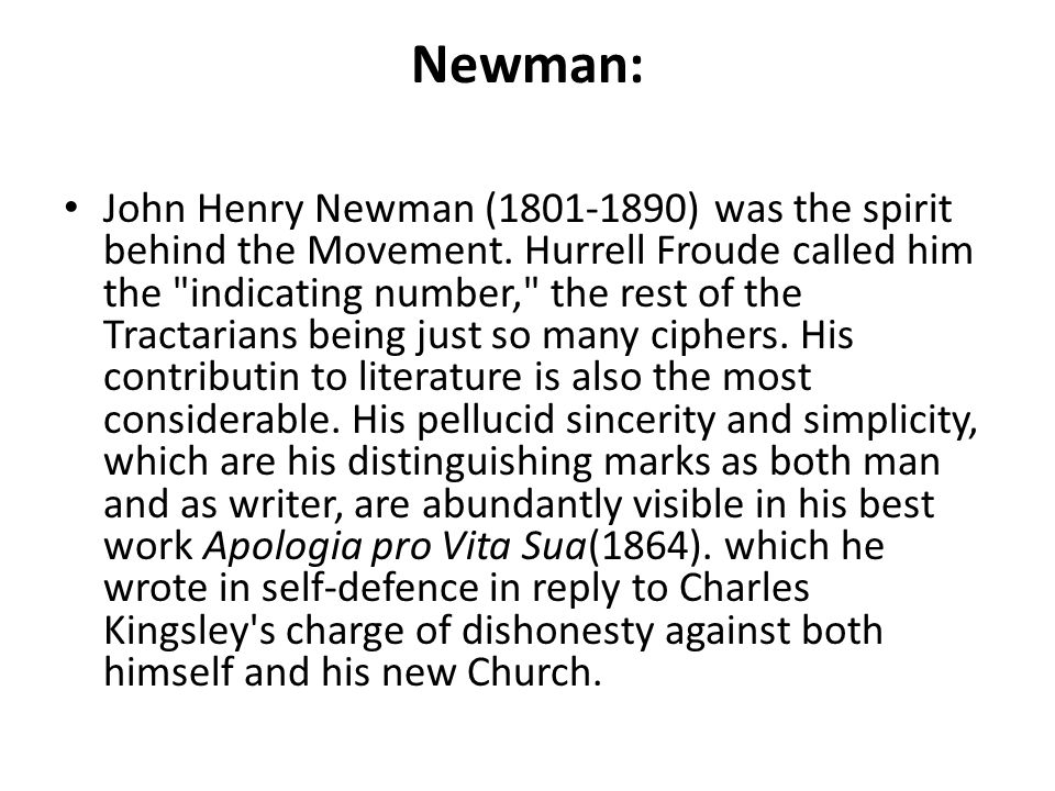 Newman: