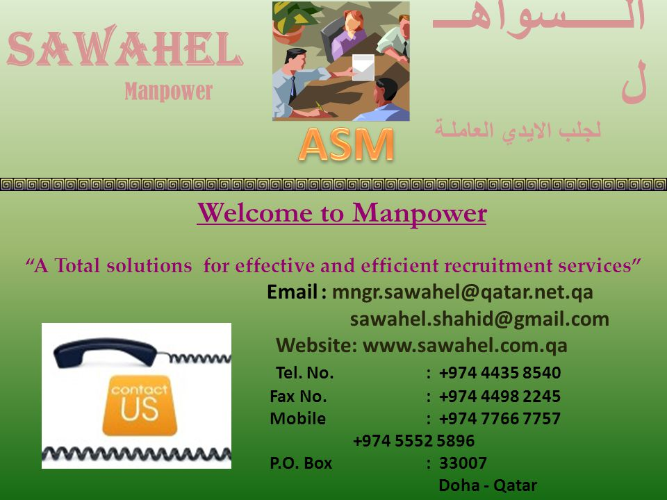 A Total solutions for effective and efficient recruitment services