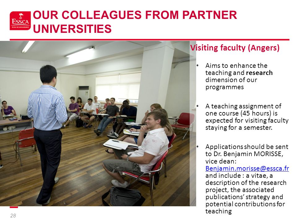 Our Colleagues From Partner Universities
