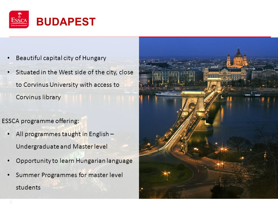 Budapest Beautiful capital city of Hungary
