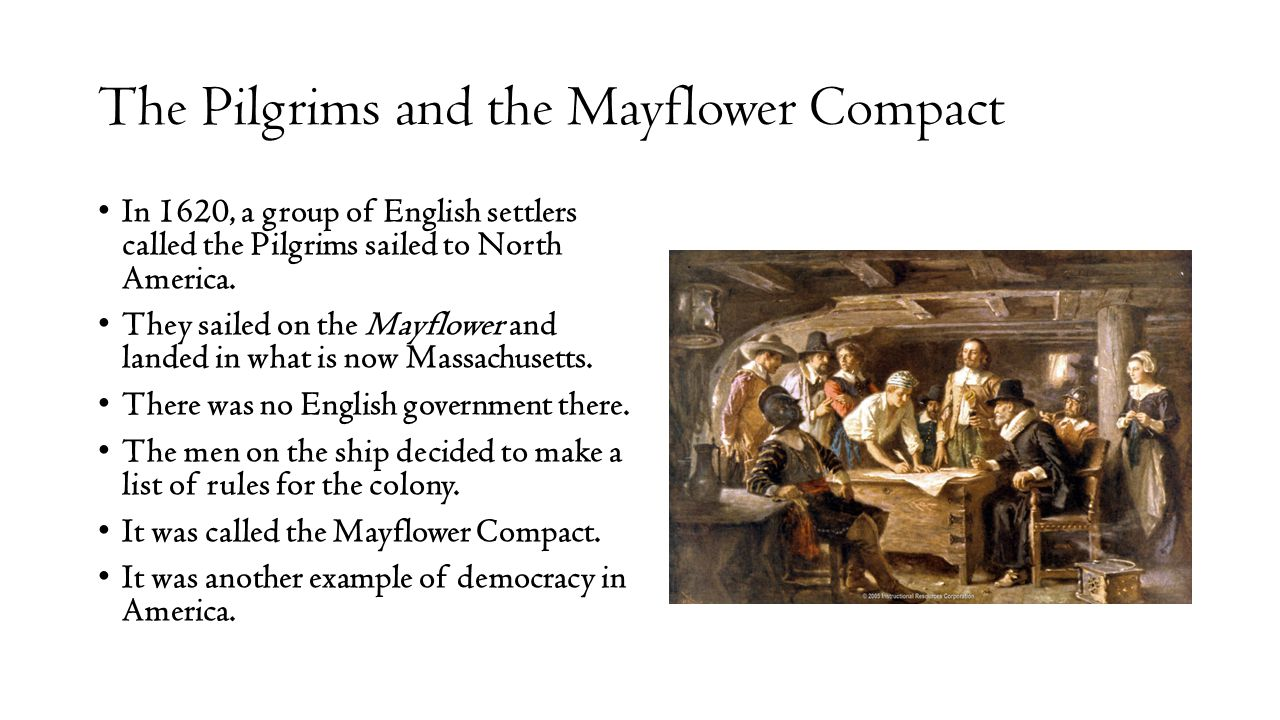 The Pilgrims and the Mayflower Compact