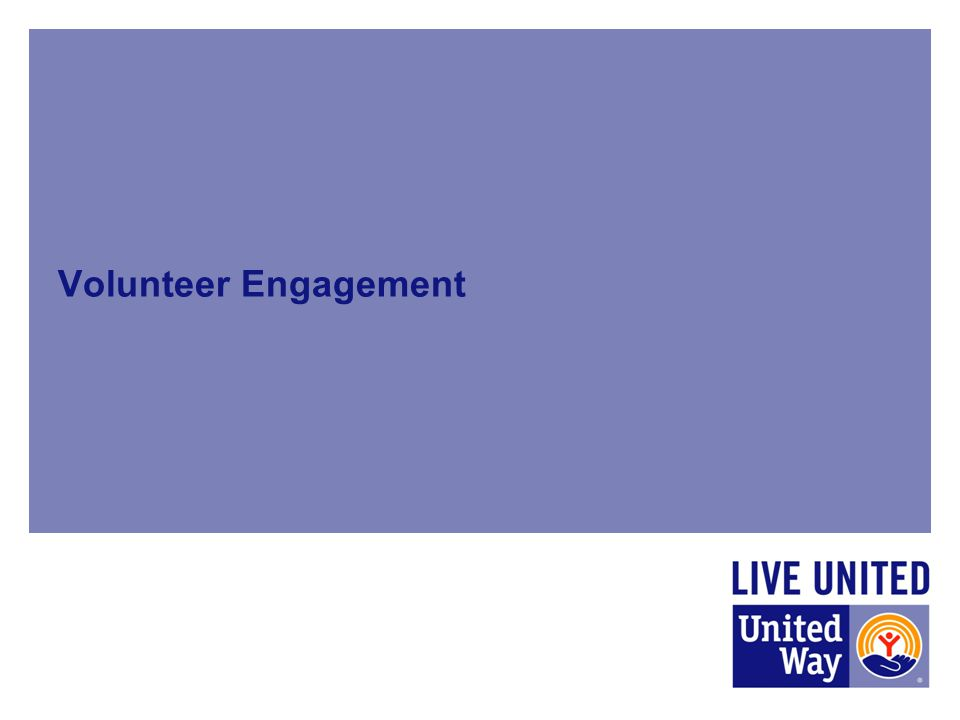Volunteer Engagement Mei (20 minutes for presentation)