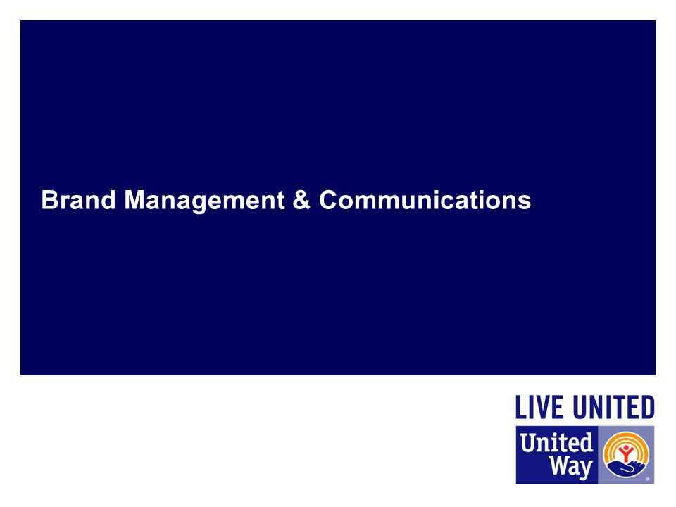 Brand Management & Communications