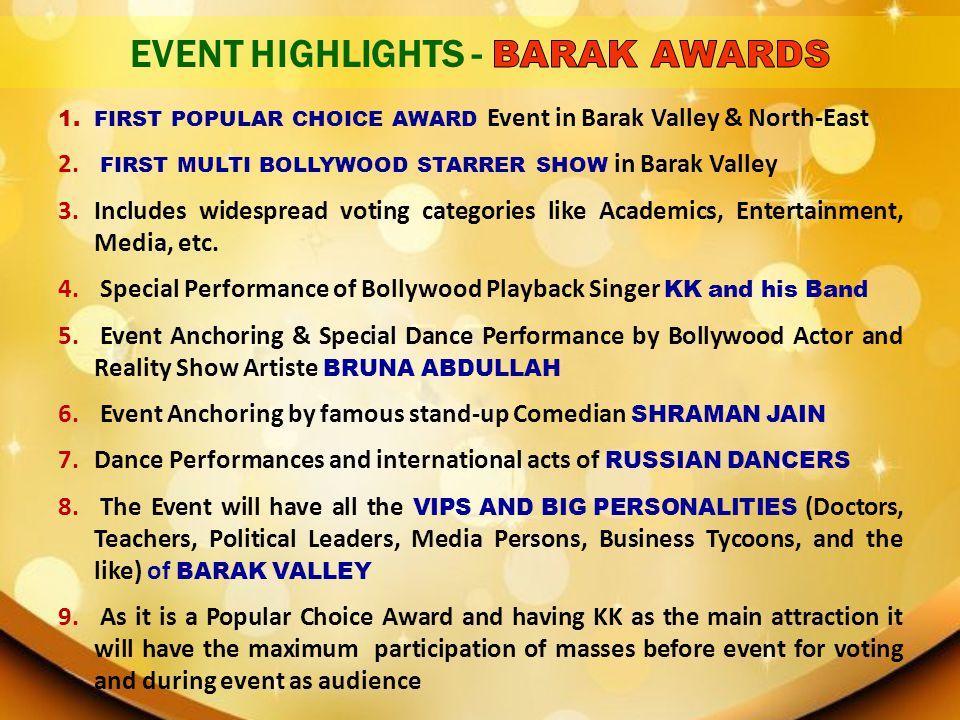 EVENT HIGHLIGHTS - BARAK AWARDS
