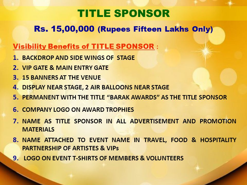 Rs. 15,00,000 (Rupees Fifteen Lakhs Only)
