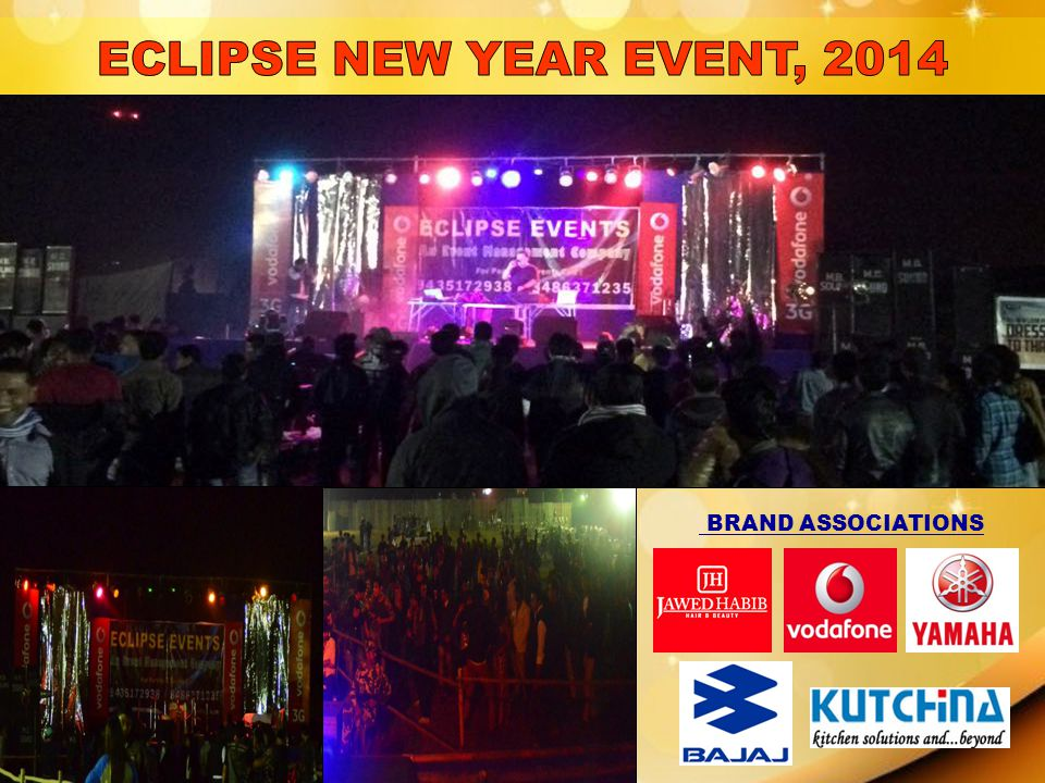 ECLIPSE NEW YEAR EVENT, 2014 BRAND ASSOCIATIONS