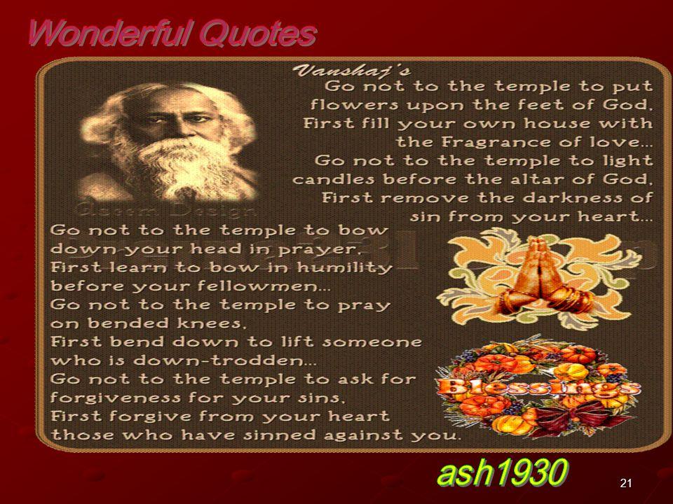 Wonderful Quotes ash1930