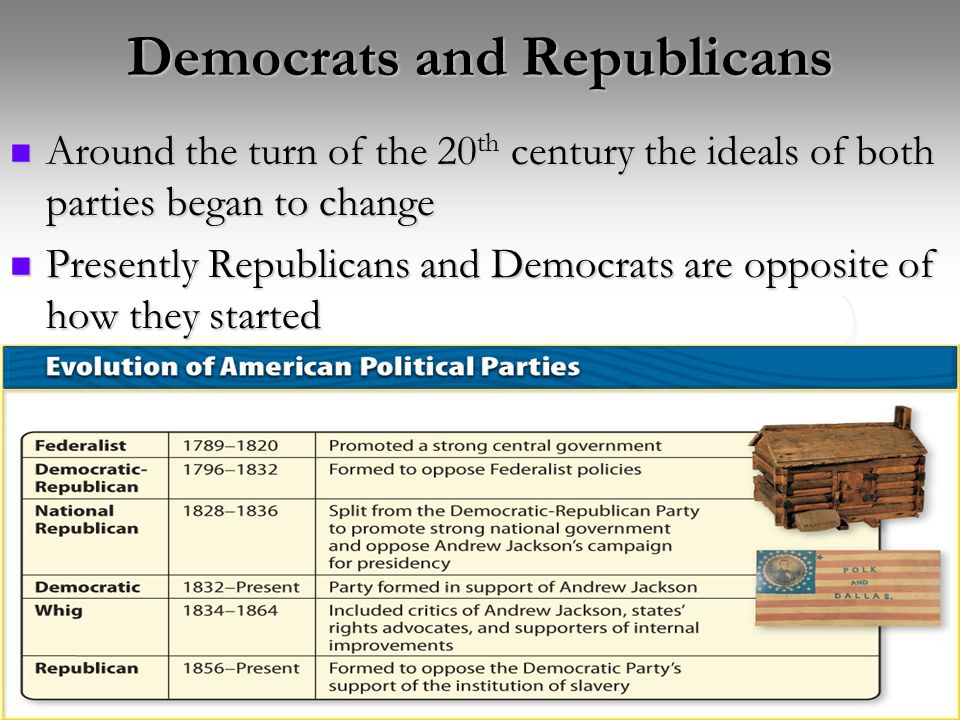 Democrats and Republicans