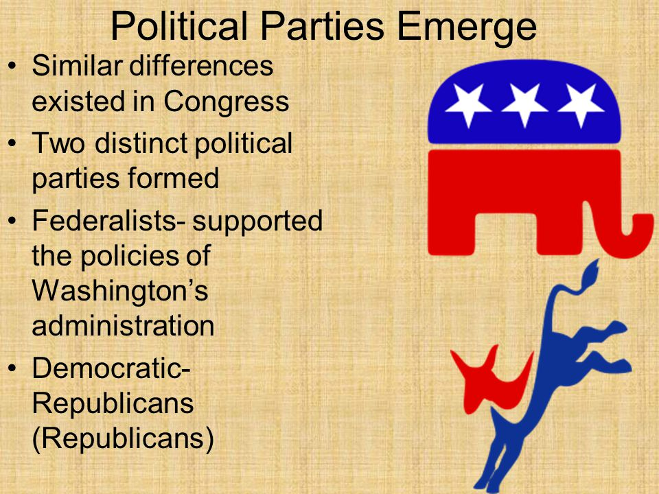 which two parties emerged after the whiskey rebellion