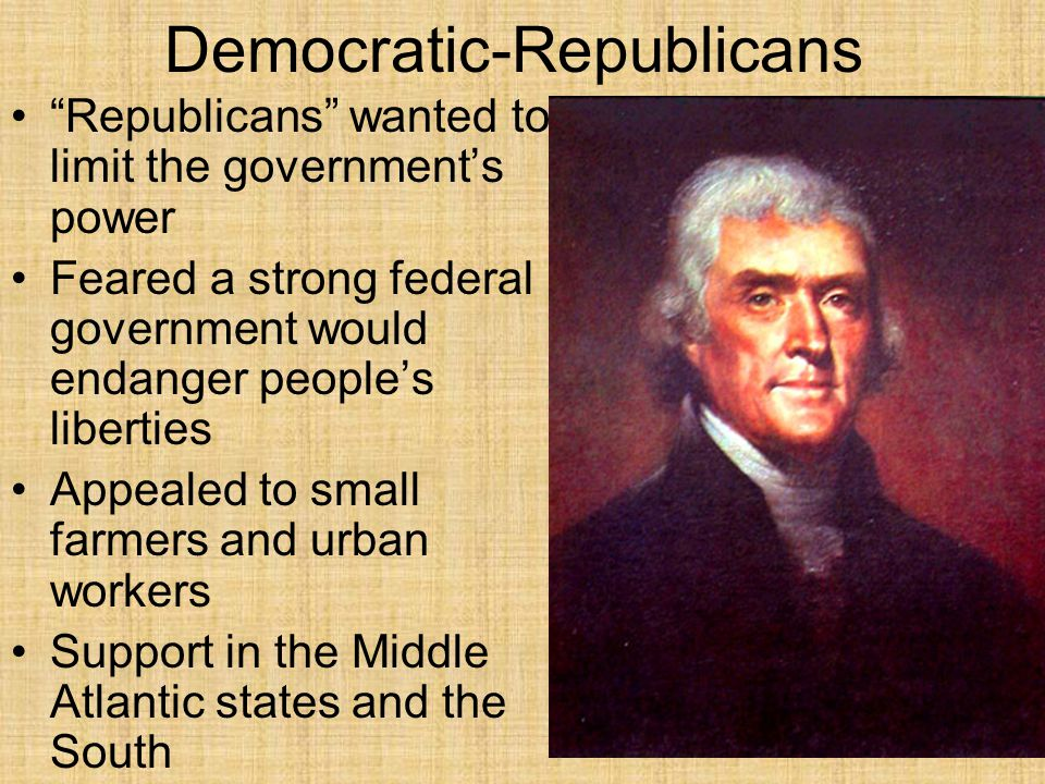 Democratic-Republicans