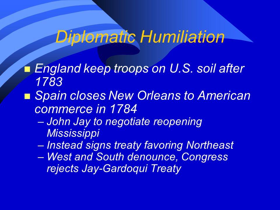 Diplomatic Humiliation