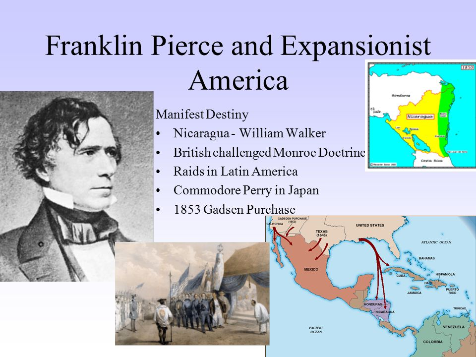 Franklin Pierce and Expansionist America