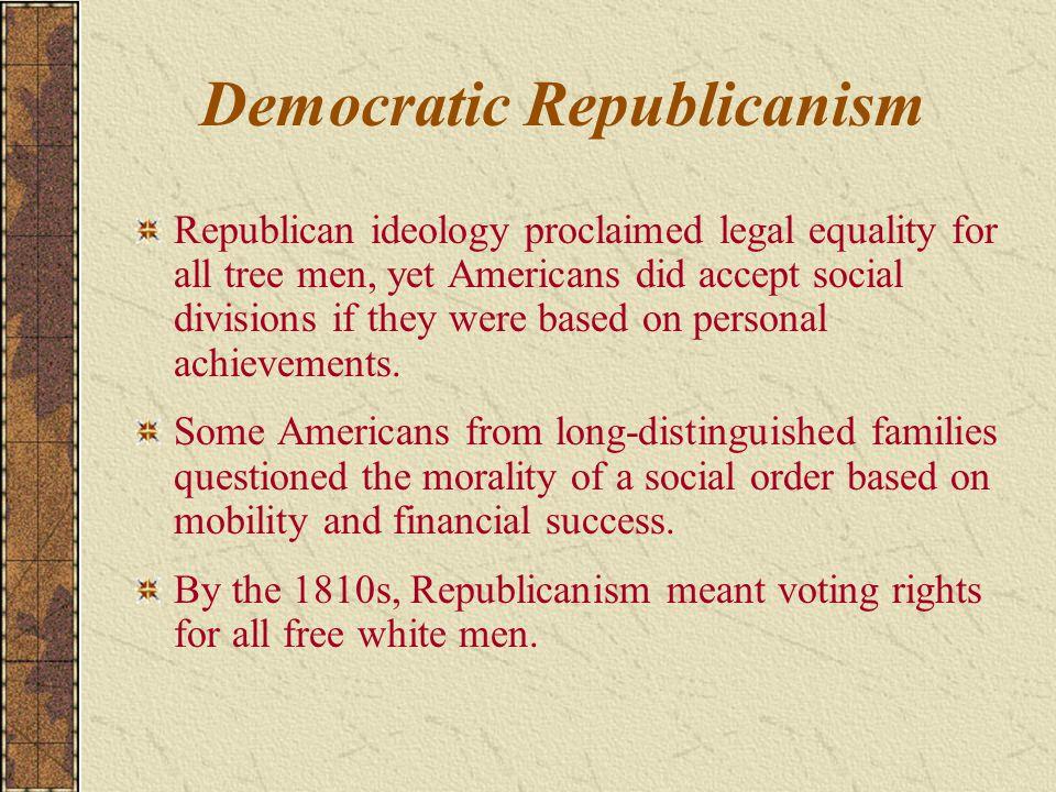 Democratic Republicanism