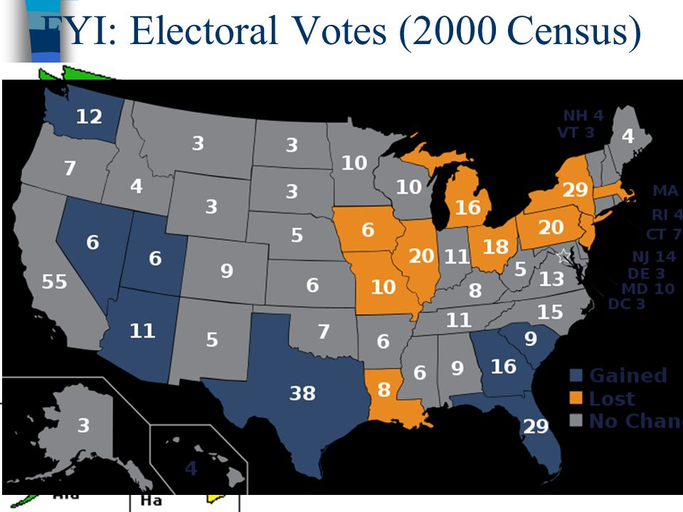 FYI: Electoral Votes (2000 Census)