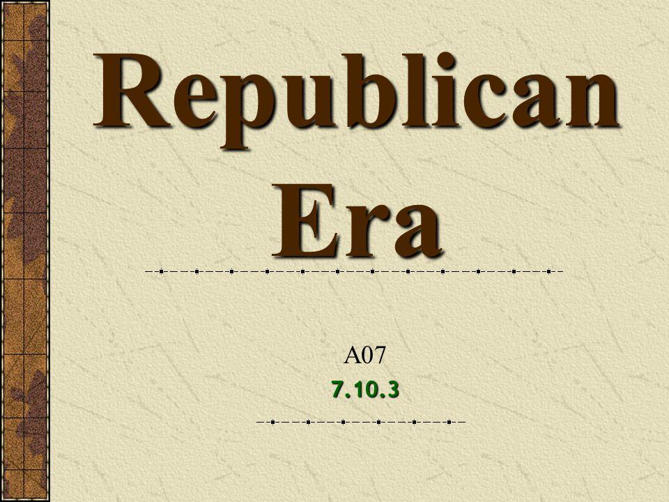 Republican Era A07 7.10.3