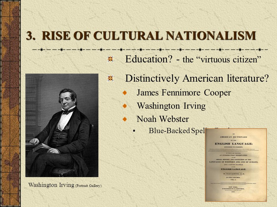 3. RISE OF CULTURAL NATIONALISM
