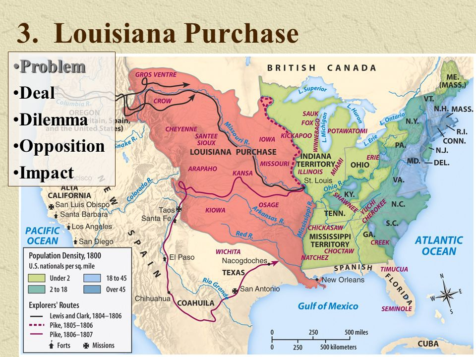 3. Louisiana Purchase Problem Deal Dilemma Opposition Impact