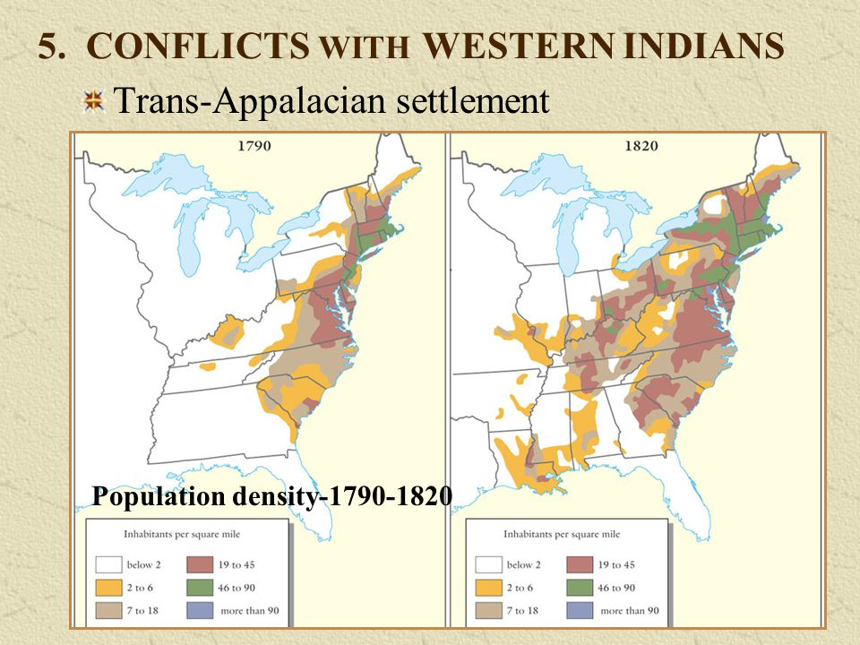 5. CONFLICTS WITH WESTERN INDIANS