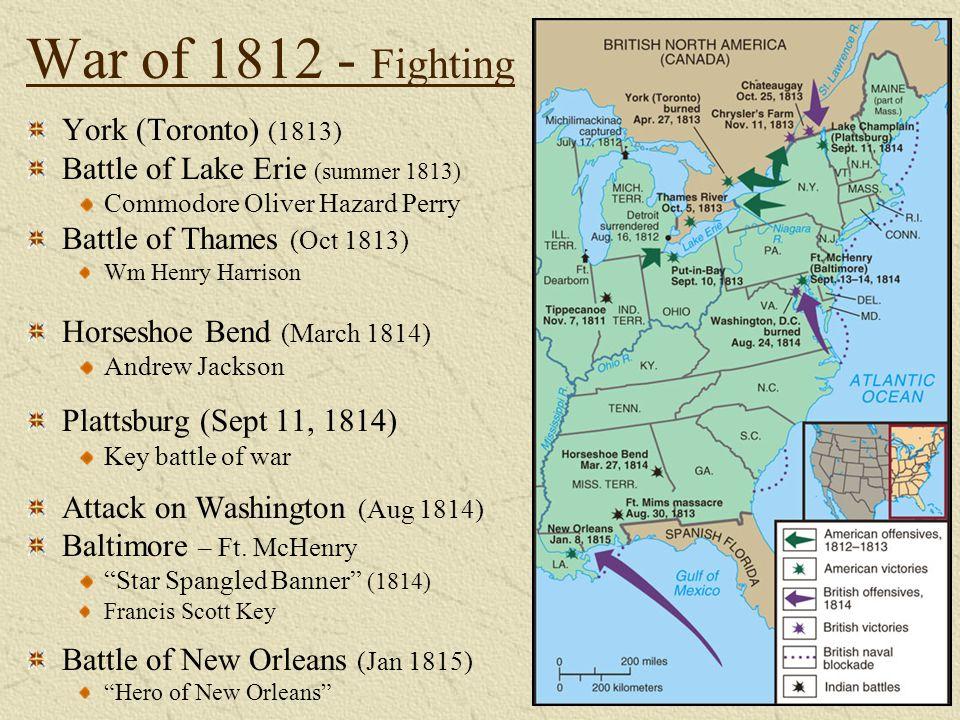 War of 1812 - Fighting York (Toronto) (1813)