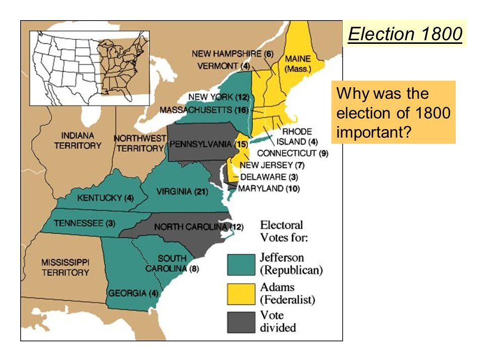 Election 1800 Why was the election of 1800 important
