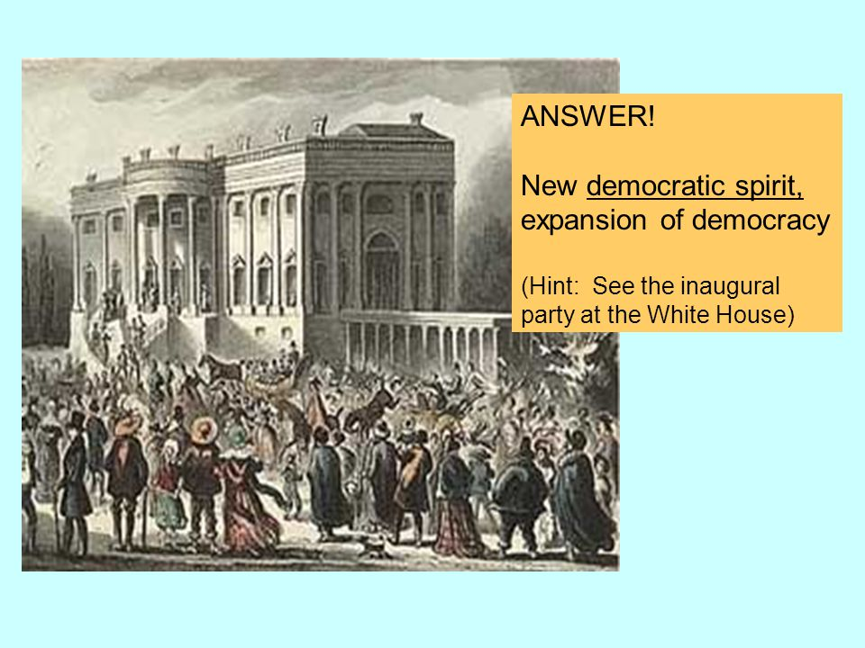 expansion of democracy