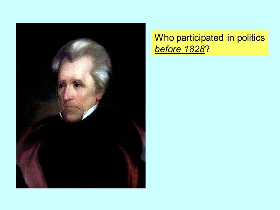 Who participated in politics