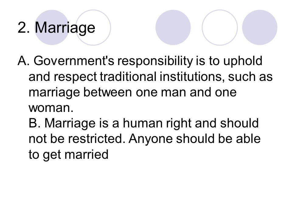 2. Marriage