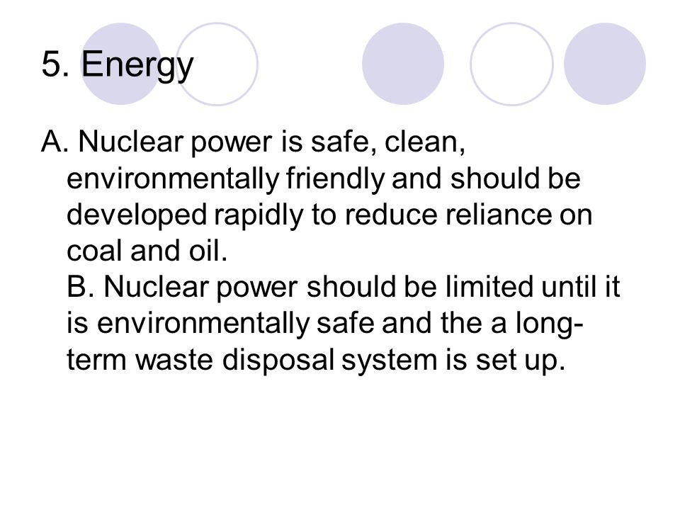 5. Energy