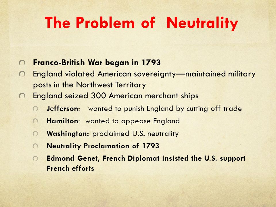 The Problem of Neutrality