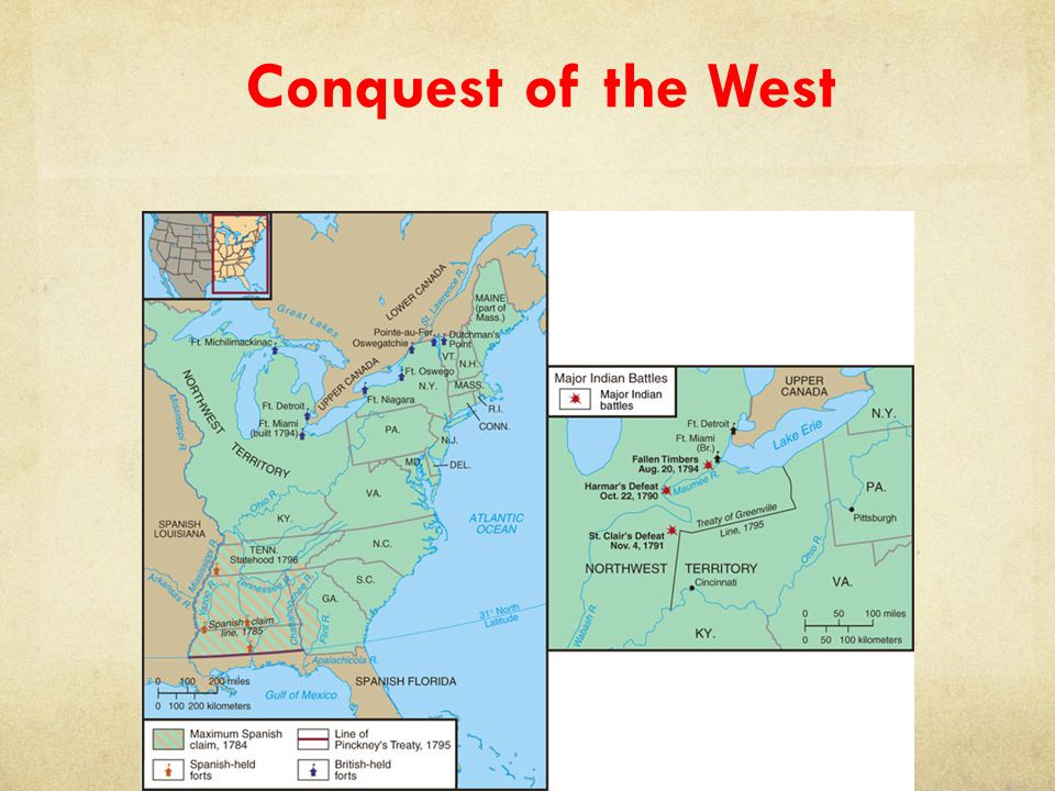 Conquest of the West