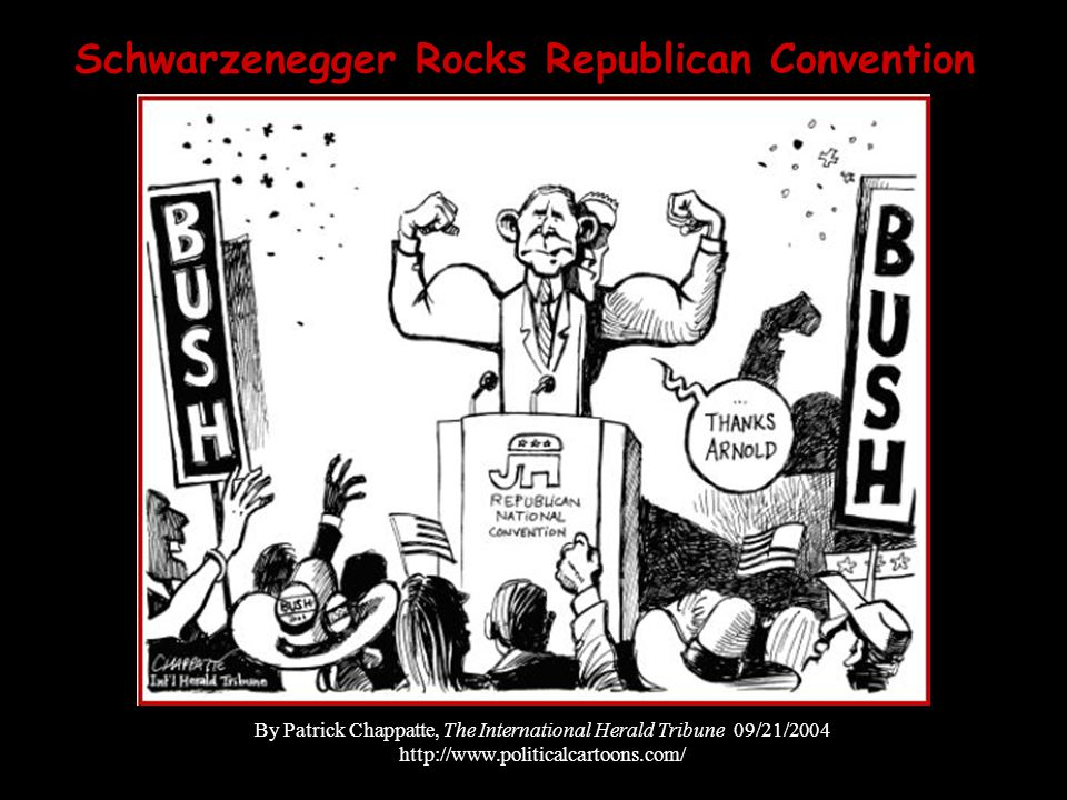 Schwarzenegger Rocks Republican Convention