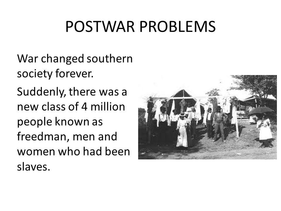 POSTWAR PROBLEMS