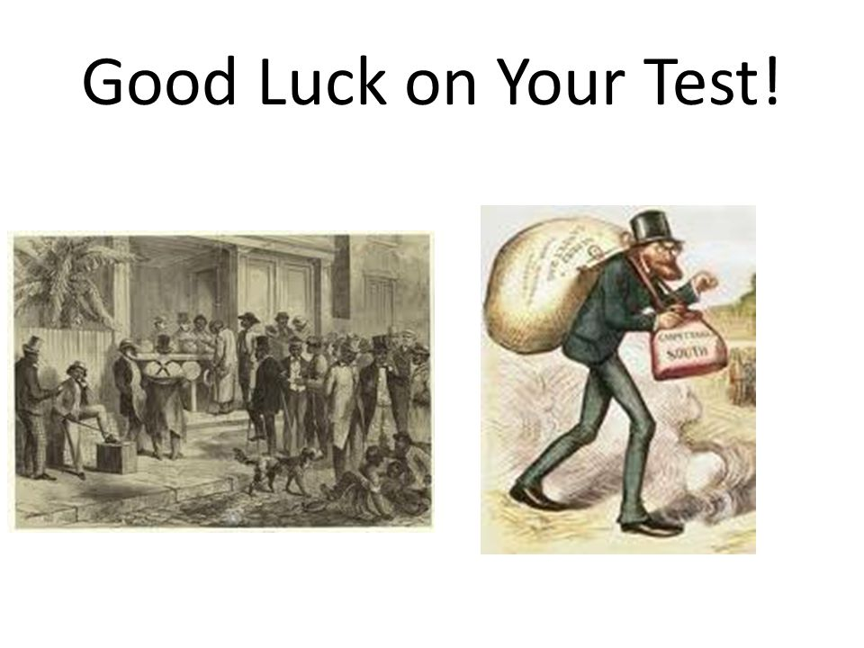 Good Luck on Your Test!