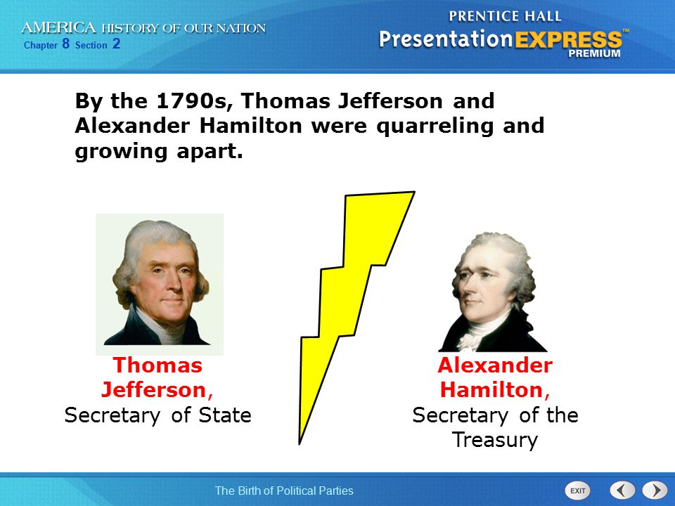 Thomas Jefferson, Secretary of State