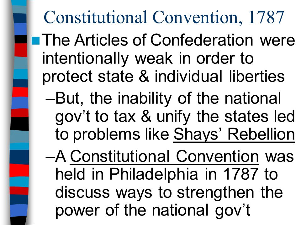 essay on the constitutional convention of 1787