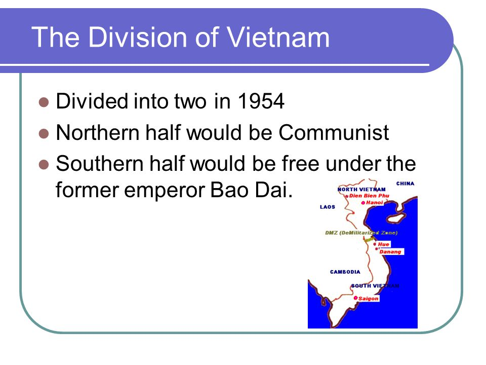 The Division of Vietnam