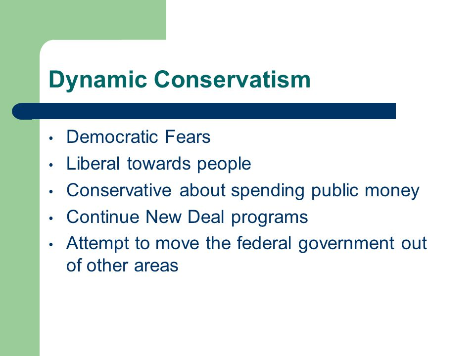 Dynamic Conservatism Democratic Fears Liberal towards people