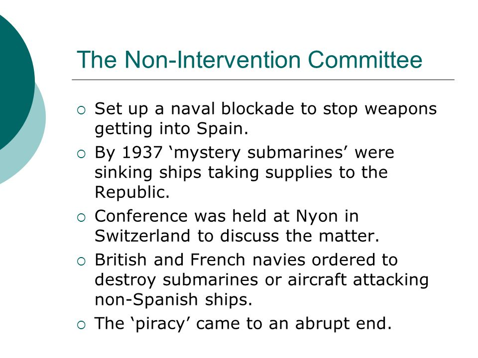 The Non-Intervention Committee