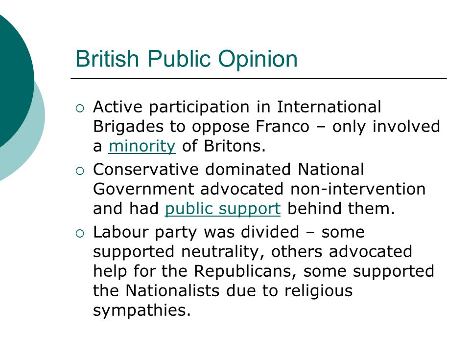 British Public Opinion
